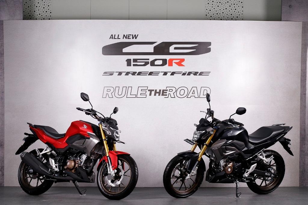 AHM Luncurkan All New Honda CB150R StreetFire Special